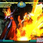 Screenshot of Dormammu and Amaterasu from Marvel vs. Capcom 3