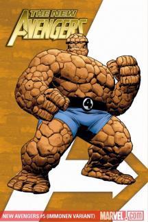 New Avengers #5  (IMMONEN VARIANT)