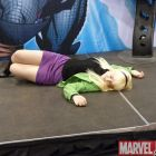 Gwen Stacey cosplayer at Marvel's Fan Expo Canada Costume Contest
