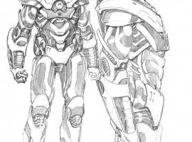 New War Machine design by Barry Kitson