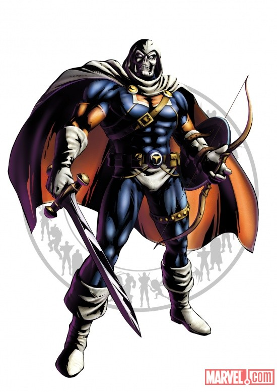 Marvel vs. Capcom 3: Taskmaster Character Art
