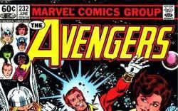 Avengers #232 cover