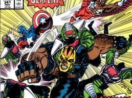 Avengers (1963) #341 cover