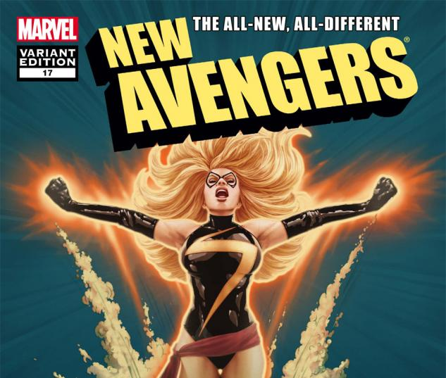 New Avengers (2010) #17, Mc 50th Anniversary Variant cover