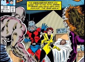 Avengers (1963) #275 Cover