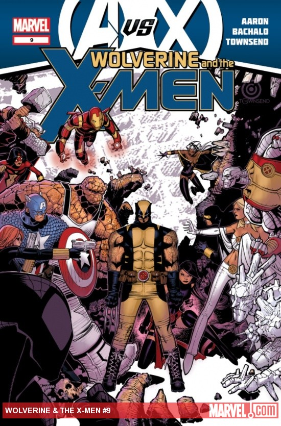 Wolverine &amp; The X-Men #9 cover by Chris Bachalo