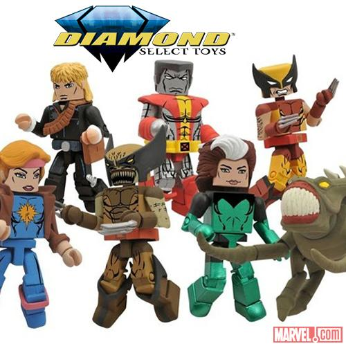 X-Men Face the Brood with New Marvel Minimates