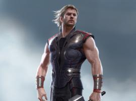 Thor's Final Training Suit by Charlie Wen