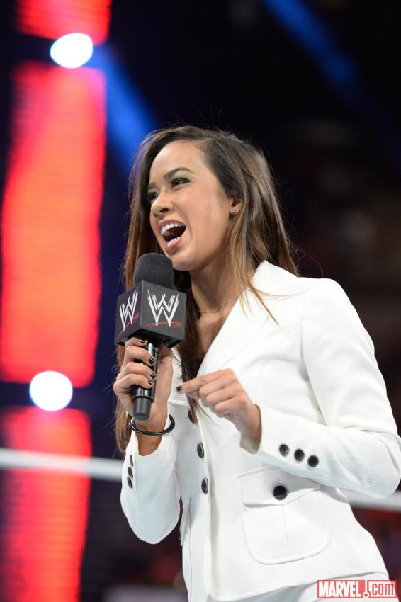 AJ Lee (photo courtesy of WWE)