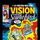 Vision and the Scarlet Witch (1985) #7 Cover