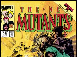 New Mutants (1983) #30 Cover