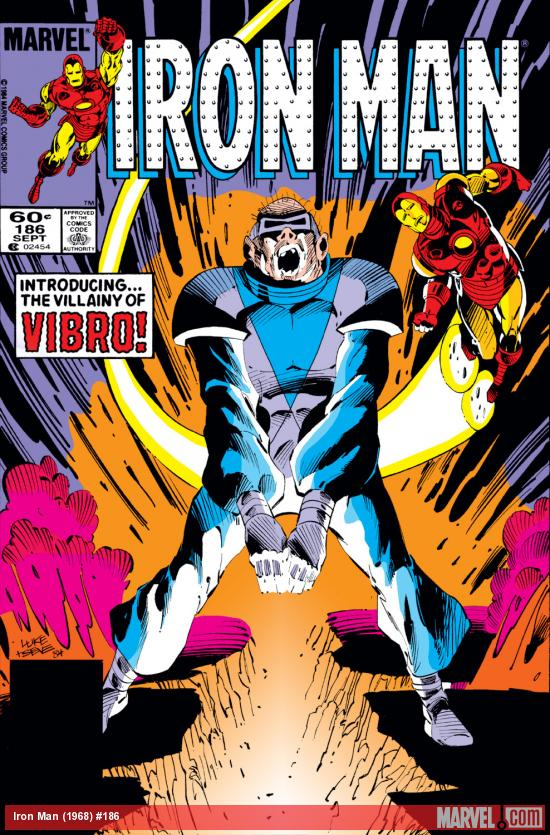 Iron Man (1968) #186 Cover
