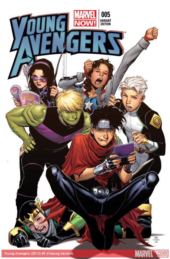 YOUNG AVENGERS 5 CHEUNG VARIANT (NOW)