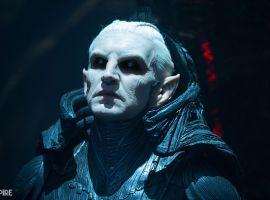 Christopher Eccleston stars as the villain Malekith in Marvel's Thor: The Dark World
