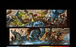 Thor: God of Thunder #25 preview art by Simon Bisley