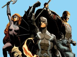 Uncanny Inhumans by Steve McNiven