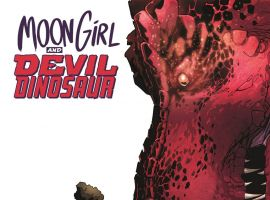 Moon Girl and Devil Dinosaur #1 cover art