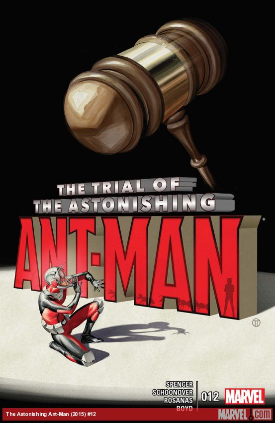 The Astonishing Ant-Man (2015) #12