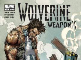 WOLVERINE WEAPON X #11 Cover by Ron Garney