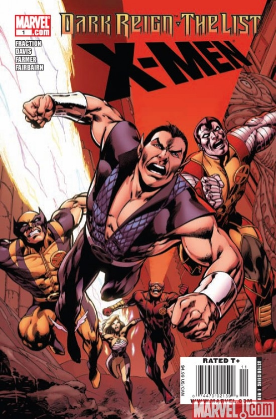 DARK REIGN: THE LIST - X-MEN ONE-SHOT