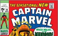 CAPTAIN MARVEL #18 COVER