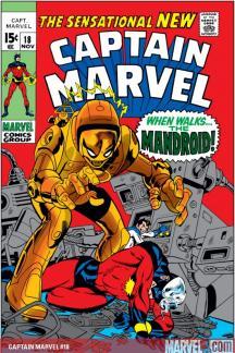 Captain Marvel (1968) #18