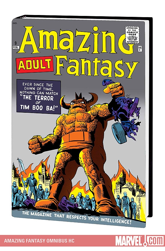 AMAZING FANTASY OMNIBUS #0