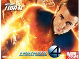 Human Torch International Movie Poster 2