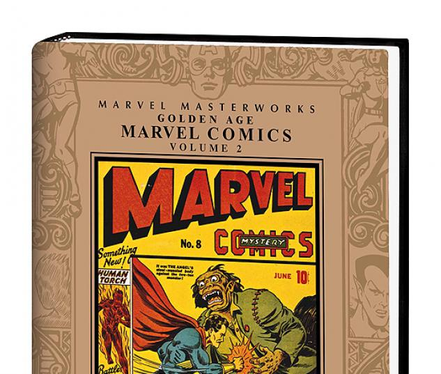 MARVEL MASTERWORKS: GOLDEN AGE MARVEL COMICS VOL.2 #0