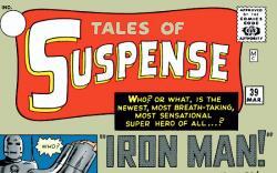 MARVEL MILESTONES: IRON MAN (2007) #1 COVER