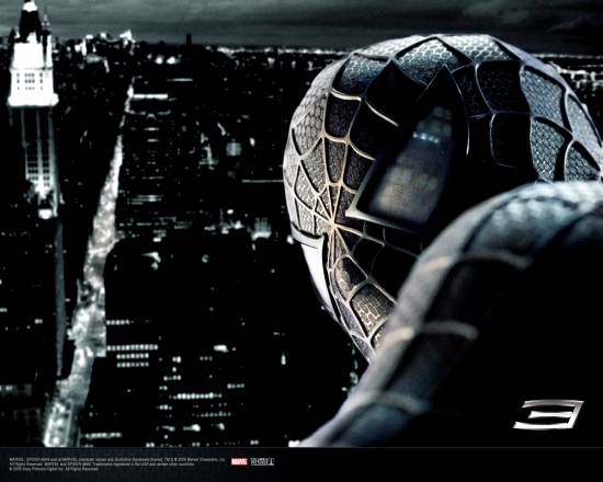 Spider-Man 3 Movie: Spider-Man Looking