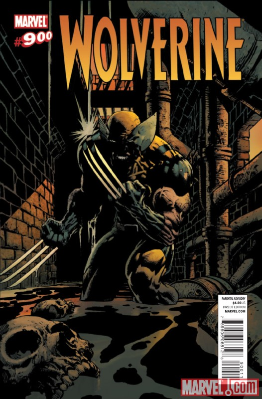WOLVERINE #900 Cover by David Finch