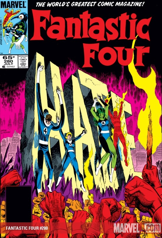 FANTASTIC FOUR #280
