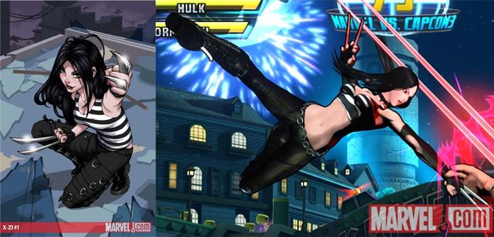 Ultimate Marvel vs Capcom 3  X23ChunLiMorrigan Playthrough