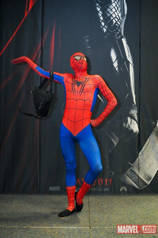 WonderCon 2011: Marvel Costume Contest, Spider-Man