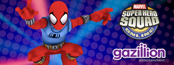 Super Hero Squad Online: Meet the Scarlet Spider