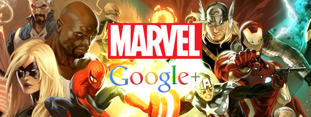 Marvel Launches Google+ Page