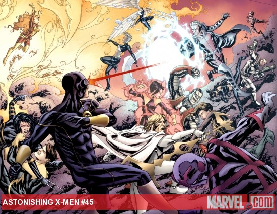 Astonishing X-Men #45 preview art by Mike McKone