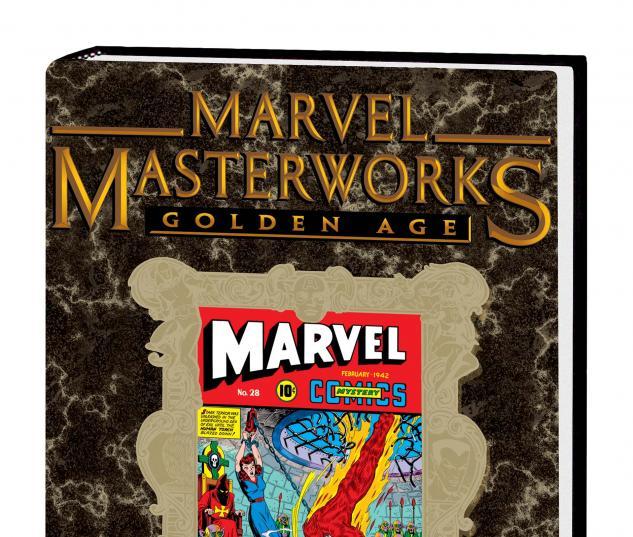 MARVEL MASTERWORKS: GOLDEN AGE MARVEL COMICS VOL. 7 HC VARIANT (DM ONLY)