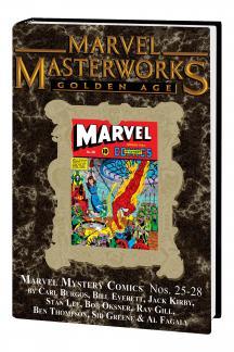 Marvel Masterworks: Golden Age Marvel Comics (Hardcover)