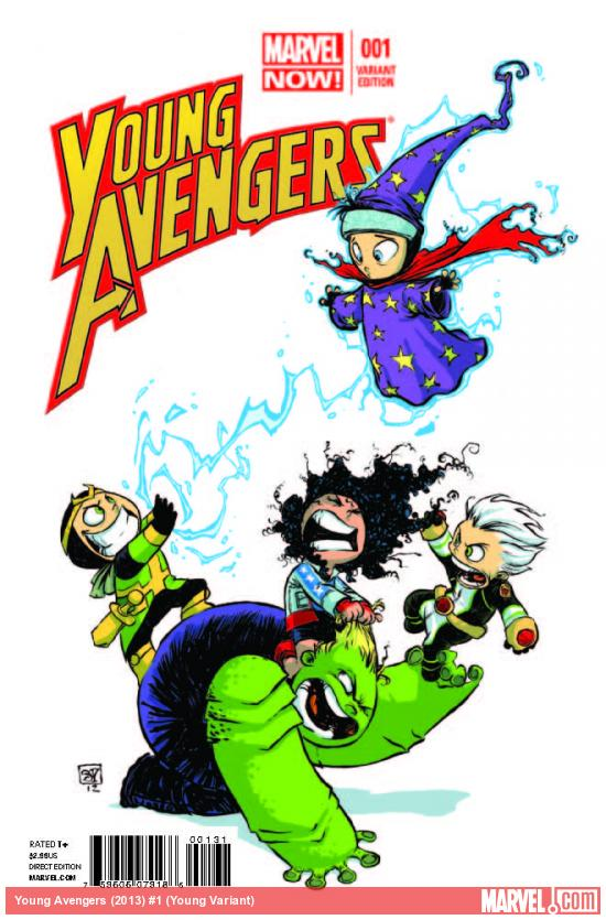 YOUNG AVENGERS 1 YOUNG VARIANT