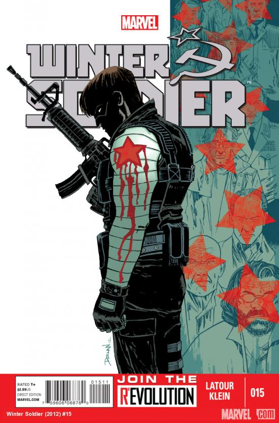 cover from Winter Soldier (2012) #15