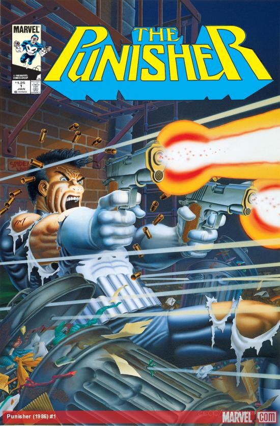 Cover for The Punisher (1986) #1