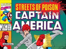 Captain America (1968) #376 Cover
