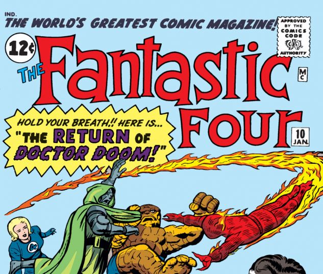 Fantastic Four (1961) #10 Cover