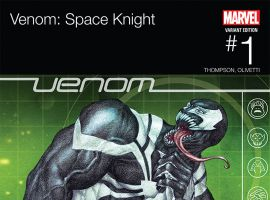 VENOM: SPACE KNIGHT 1 CHOI HIP-HOP VARIANT (WITH DIGITAL CODE)
