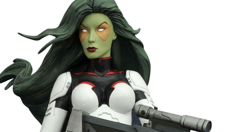 Gamora Diamond Select Toys Statue