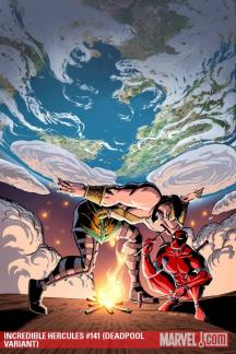 Incredible Hercules (2008) #141 (DEADPOOL VARIANT)