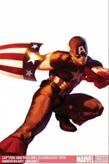 Captain America (2004) #601 (DJURDJEVIC 70TH ANNIVERSARY VARIANT)