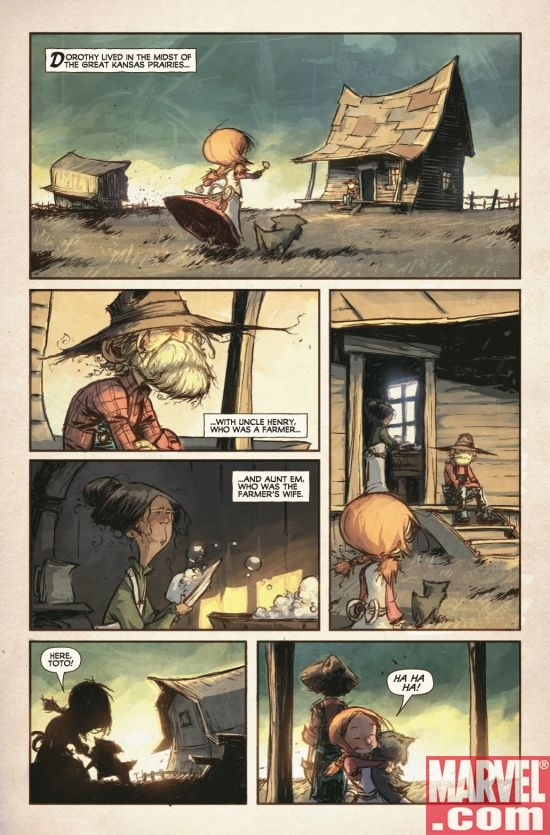 THE WONDERFUL WIZARD OF OZ #1, page 2